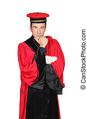 robe port, rouges, magistrat