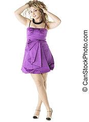 robe pourpre