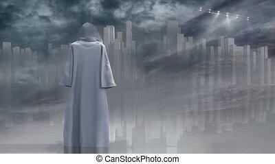 robed, voyageur