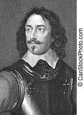 Robert Devereux, 3rd Earl of Essex (1591-1646) on engraving...