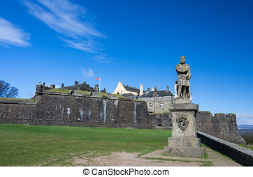 Robert the Bruce at Stirling Castle - Robert the Bruce...