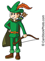 Robin, capuz