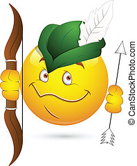 Robin Hood Smiley Face