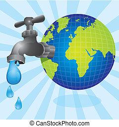robinet, conceptuel