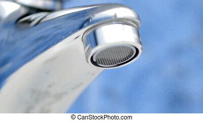 robinet eau, goutte, -, hd