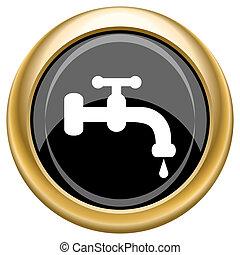 robinet eau, icône