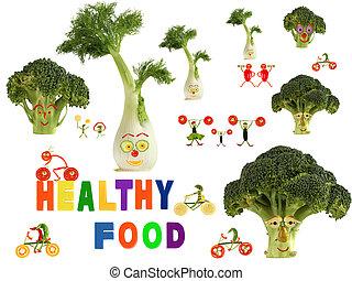 robiony, zdrowy, warzywa, kraj, jadło, fantastyczny, owoce