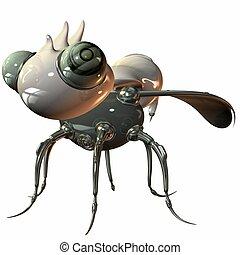 Robo Bug - 3D Render