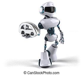 robot, 3d