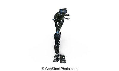 Robot - 3D CG rendering of a robot