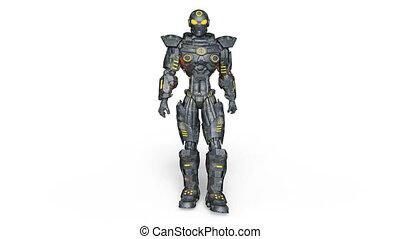Robot - 3D CG rendering of a robot.