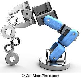 Robot arm technology industrial gears