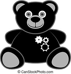 Robot bear - Creative design of robot bear