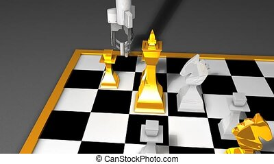 Robot chess playing