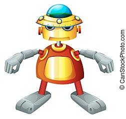 robot, coloré