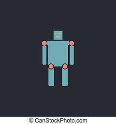 robot computer symbol