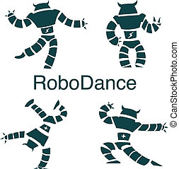 robot dancer - dancer droid