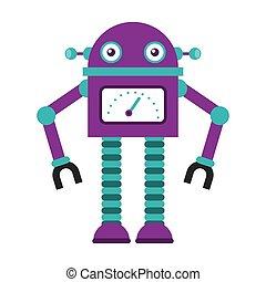 robot electric avatar icon