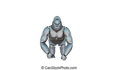 gorilla - robot gorilla