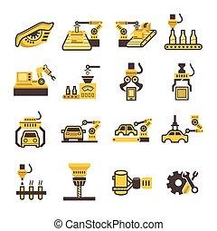 robot, icône