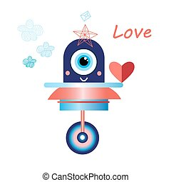 robot in love funny