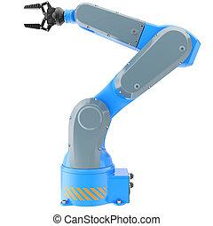 robot industriale, braccio