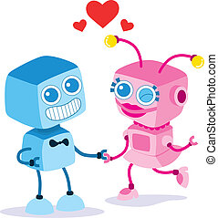 Robot Love Couple