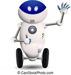 robot, mignon