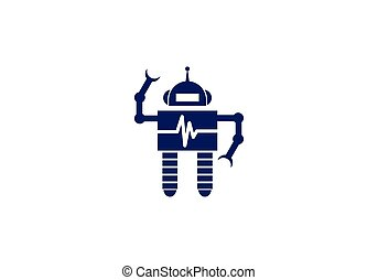robot, pictogram