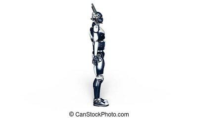 Robot police - Image of a robot police.