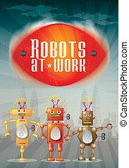 Robot Poster