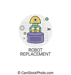 Robot Replacement Machinery Industrial Automation Industry...