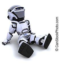 robot, rilassante