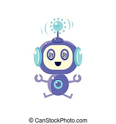 Robot Sitting In Trans