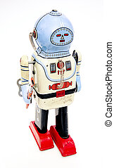 robot, speelbal