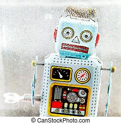 robot, speelbal