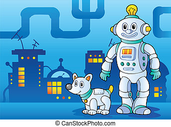 Robot theme image 4