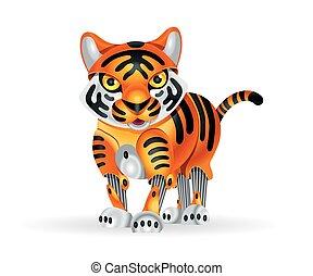 Robot tiger cub