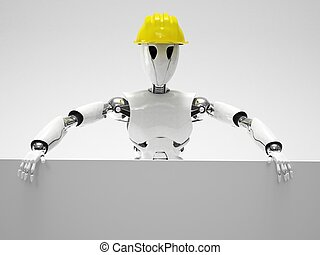 robot worker construction