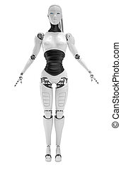 roboter, android, frauen