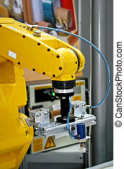 Robotic hand designed for complex industry operations