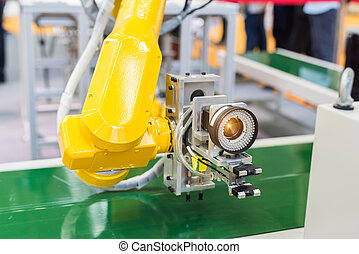 Robotic machine vision system