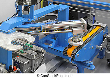 robotic, sistema, transportador