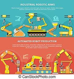 robotic wapenen, plat, samenstelling