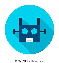 Robotics Circle Icon