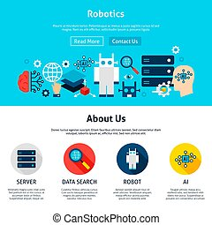 Robotics Website Design