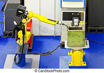 robotique, soudeur
