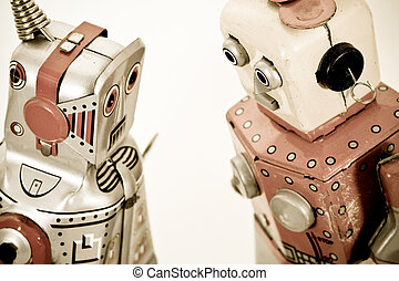 robots - two robot toys