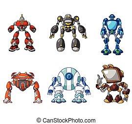 roboty, zbiór