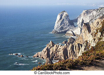 roca, cabo, portugal, da